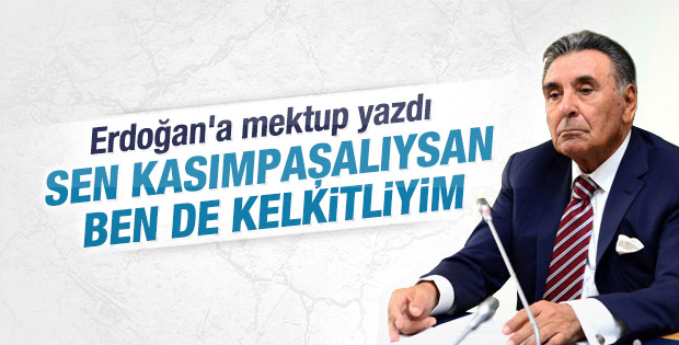 Aydın Doğan Cumhurbaşkanı Erdoğan'a mektup yazdı