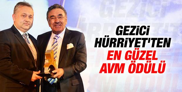 AVM'lere karşı Hürriyet AVM ödülleri dağıttı