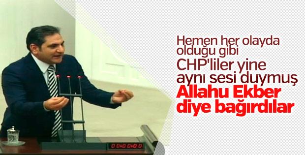 CHP'li Aykut Erdoğdu'dan Meclis'te tekbir iddiası