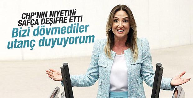 Aylin Nazlıaka'dan itiraf gibi tweet