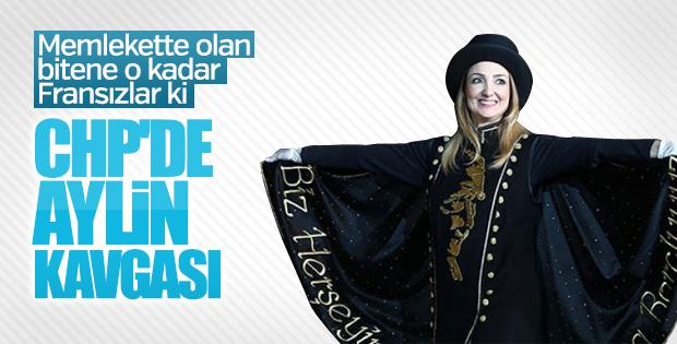 Af dileyen Aylin Nazlıaka PM'de tartışmalara neden oldu