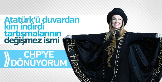 Aylin Nazlıaka CHP'ye dönmek istiyor