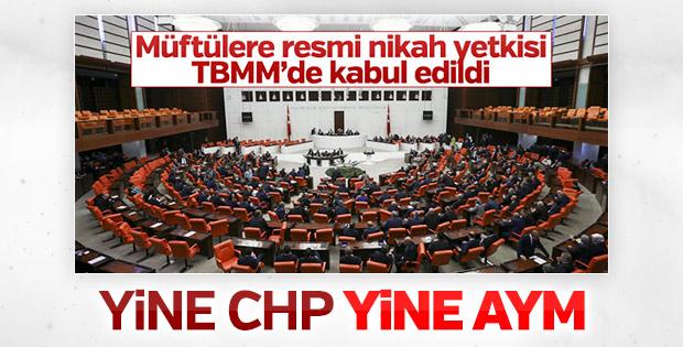 CHP müftülere nikah yetkisini AYM'ye taşıyor