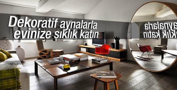 Evinizde aynalara yer açın