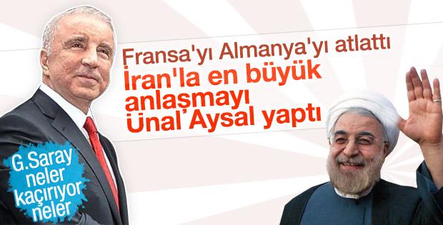Ünal Aysal'ın şirketinden rekor İran anlaşması