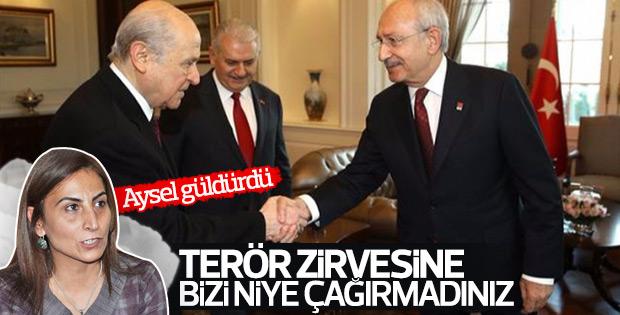 Aysel Tuğluk'a göre HDP de Çankaya'ya çağrılmalıydı