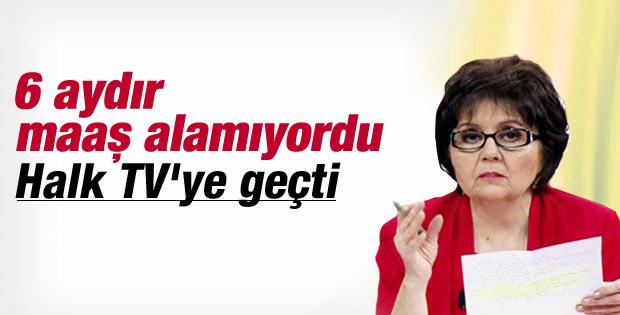 Ayşenur Arslan Halk TV'ye geçti