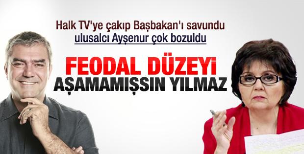 Ayşenur Arslan'dan Yılmaz Özdil'e tepki
