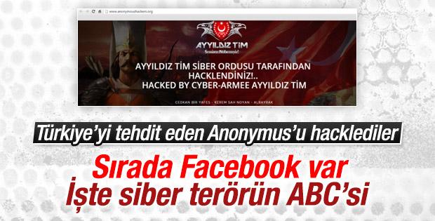 Türk hackerlar Ayyıldız Tim'in yeni hedefi Facebook