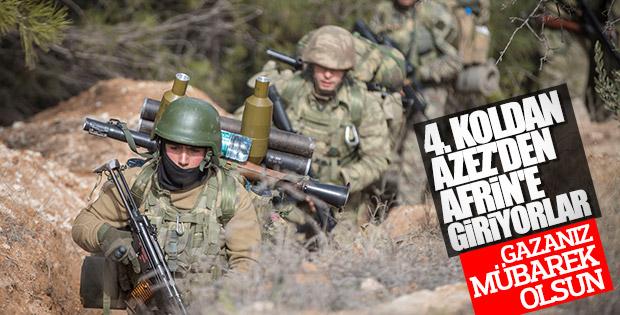 Afrin'de yeni cephe açıldı