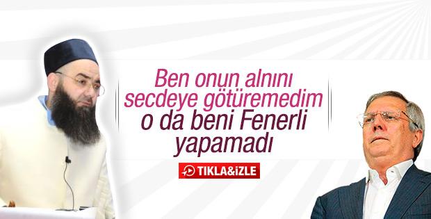 Cübbeli Ahmet Hoca: Aziz Yıldırım'ı namaza başlatamadım