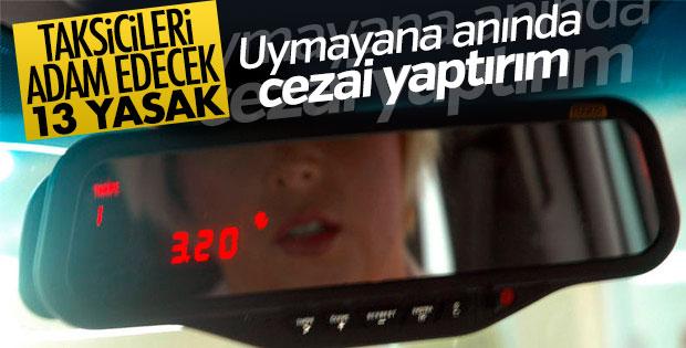 İstanbul Valiliğinden taksicilere uyarı