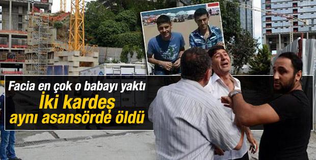 Mecidiyeköy'deki kazada oğlunu kaybeden babanın feryadı İZLE