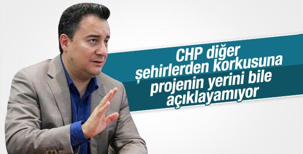 Ali Babacan'dan CHP'nin Merkez Türkiye projesine yorum