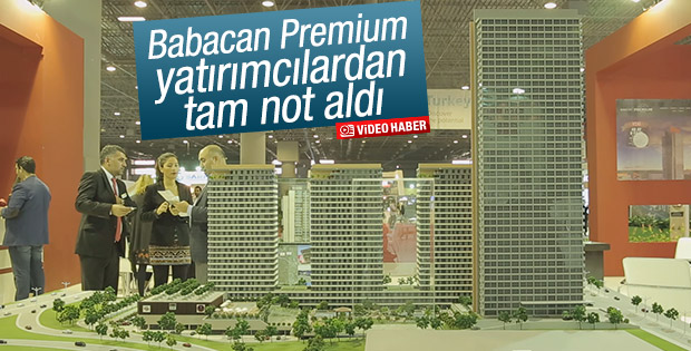 Babacan Premium Emlak Fuarı'nda tanıtıldı