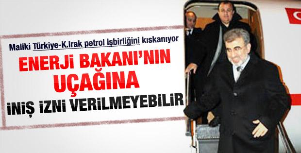 Bağdat hava sahasını Türkiye'ye kapattı