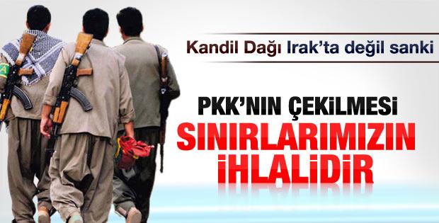 Bağdat yönetiminden PKK açıklaması