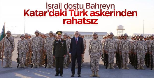 Bahreyn Türk askerinin Katar'dan çıkmasını istedi