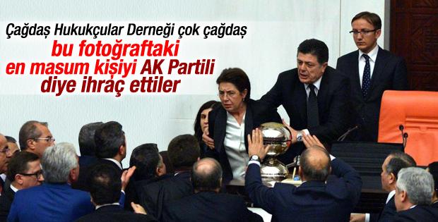 Çağdaş Hukukçular Derneği Ayşenur Bahçekapılı'yı ihraç etti