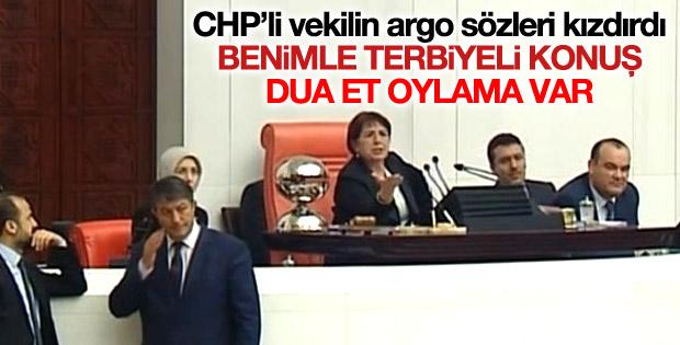 CHP'li vekilden TBMM Başkanvekili Bahçekapılı'yı kızdıran sözler