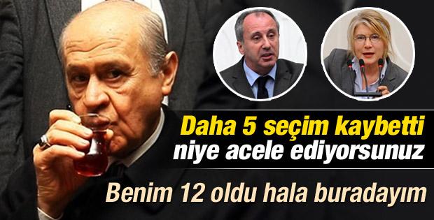 Devlet Bahçeli: CHP'li muhalif vekiller aceleci davrandı