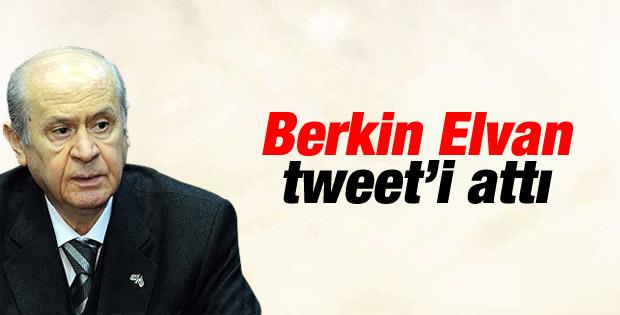 Devlet Bahçeli'den Berkin Elvan tweet'i