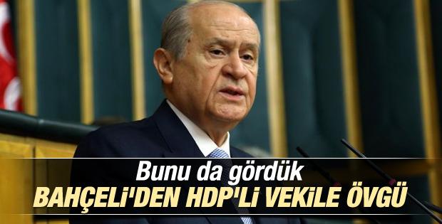 Bahçeli: HDP'nin içerisinde en akil insan o