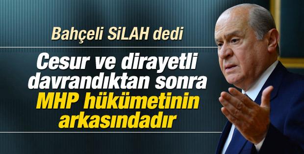 Devlet Bahçeli'den hükümete Musul çağrısı