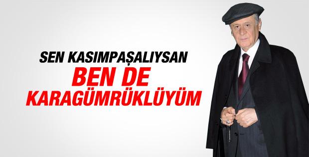 Bahçeli'den Erdoğan'a kasketli meydan okuma