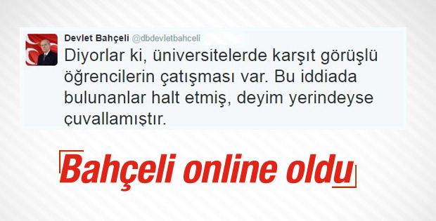 Devlet Bahçeli'den Hacettepe Üniversitesi açıklaması