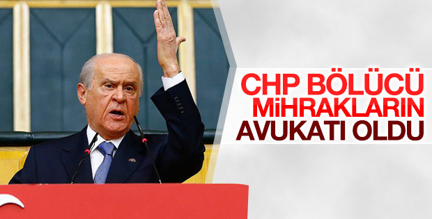 Bahçeli'den CHP'ye sert sözler