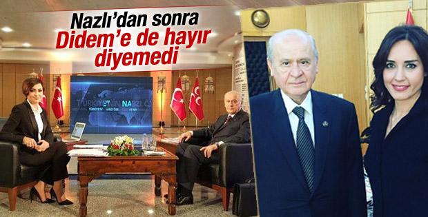 Bahçeli Habertürk'te Didem Arslan'ın konuğu oldu