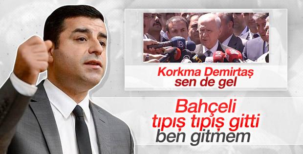 Selahattin Demirtaş'tan Bahçeli'ye gönderme