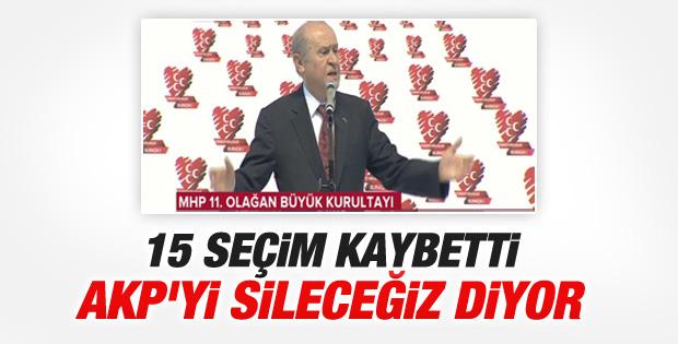 Devlet Bahçeli MHP Kurultayı'nda konuştu