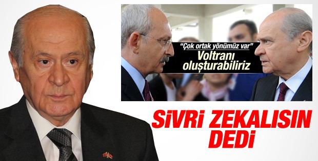 Bahçeli'den Kılıçdaroğlu'na koalisyon tepkisi