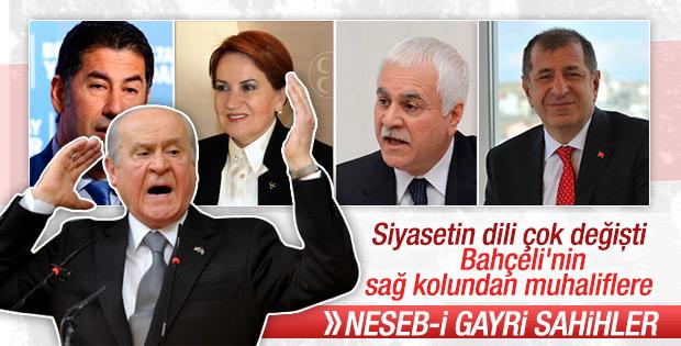 MHP'li Celal Adan'dan muhaliflere sert sözler