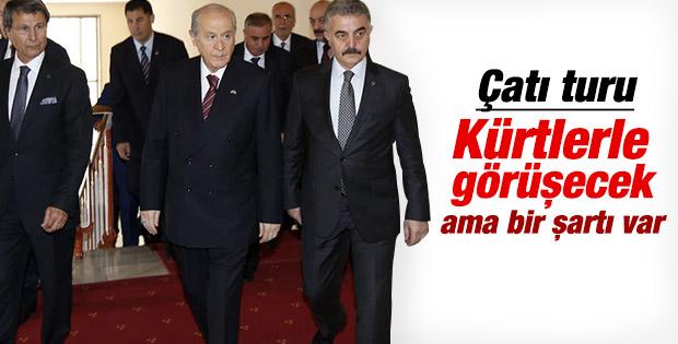 Devlet Bahçeli Kürt ve Alevilerle görüşecek