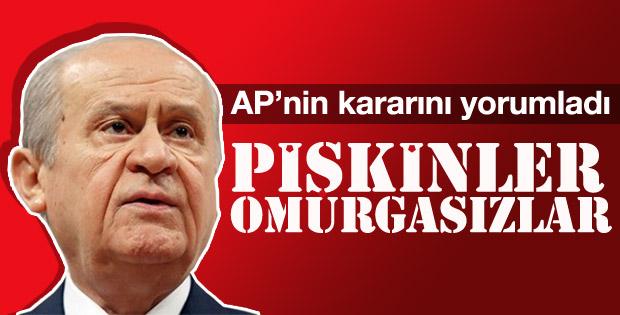 Devlet Bahçeli'den AP'nin kararına tepki