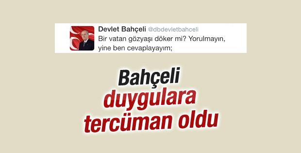 Bahçeli'nin teröre isyan tweetleri