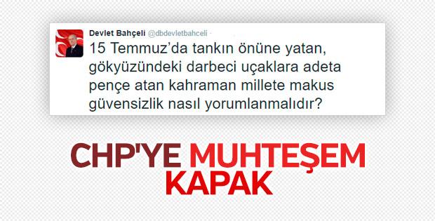 Devlet Bahçeli'den CHP'ye anayasa tepkisi
