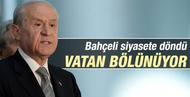 Bahçeli: Erdoğan milliyetçiliği söküp attı