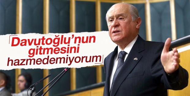 Devlet Bahçeli'den Başbakan'ın ayrılma kararına yorum