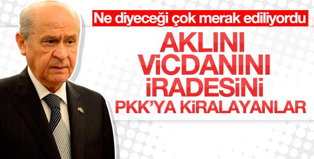 Devlet Bahçeli: HDP'lilerin yargılanması meşrudur