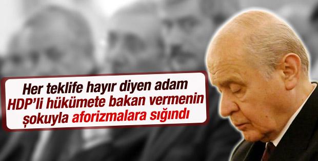 Bahçeli'den Tuğrul Türkeş açıklaması