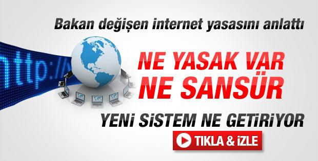 Bakan Elvan'dan internet düzenlemesi hakkında açıklama - izle