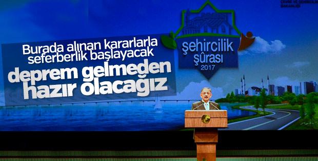 Şehircilik Bakanı: Depreme karşı seferberlik başlatacağız