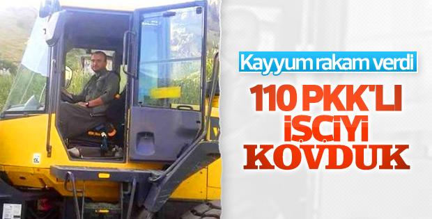 Diyarbakır'da PKK bağlantılı 110 işçi kovuldu