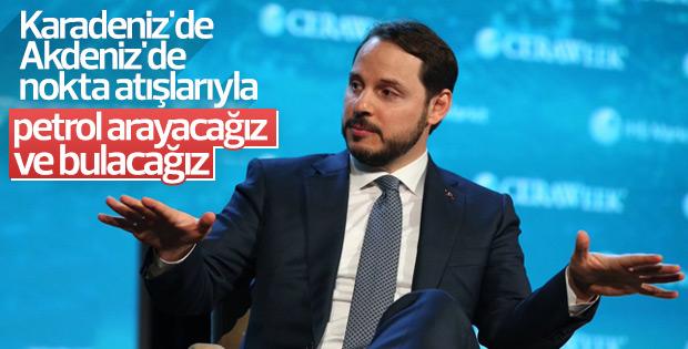 Bakan açıkladı: Akdeniz ve Karadeniz'de petrol aranacak