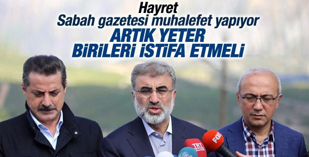 Haşmet Babaoğlu: Faruk Çelik istifa etmeli