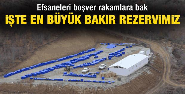 Türkiye'nin en büyük bakır rezervi Kastamonu'dan çıkıyor